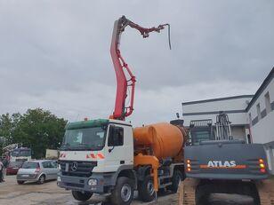 автобетононасос Cifa 28m+9m3 на шасси MERCEDES-BENZ Actros 3244 8x4 CIFA 28m+9m3 mixer-pump, very nice pump