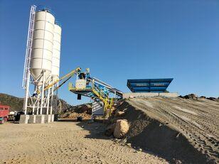 новый бетонный завод PROMAX Mobile Concrete Batching Plant PROMAX M60-SNG (60m3/h)